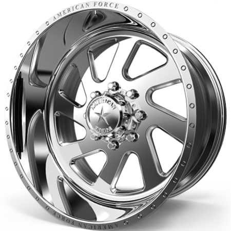 American Force Power Polished Wheels