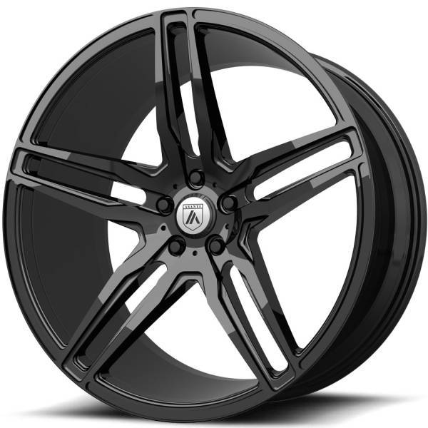 Asanti ABL-12 Gloss Black Wheels