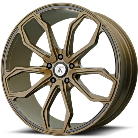 Asanti Black Label ABL-19 Satin Bronze Wheels