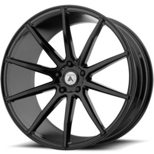 Asanti Black Label ABL-20 Gloss Black Wheels