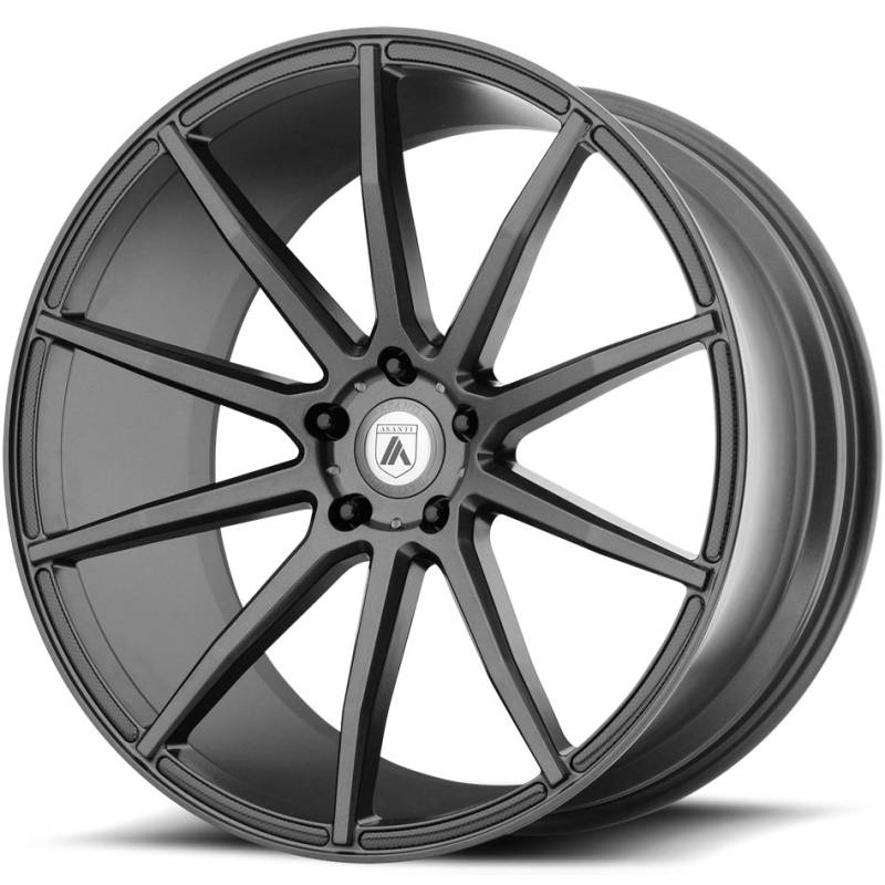 Asanti Black Label ABL-20 Matte Black Wheels