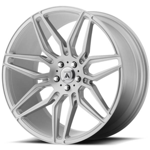 Asanti ABL-11 Brushed Silver Wheels