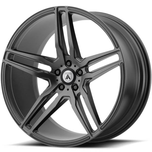 Asanti ABL-12 Matte Graphite Wheels