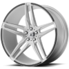 Asanti ABL-12 Silver Wheels with Carbon Inserts