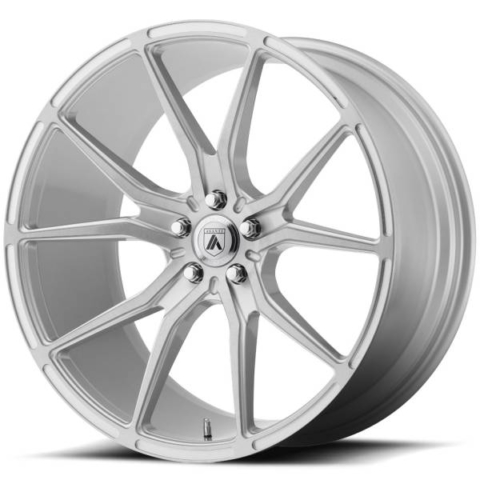 Asanti ABL-13 Brushed Silver Wheels
