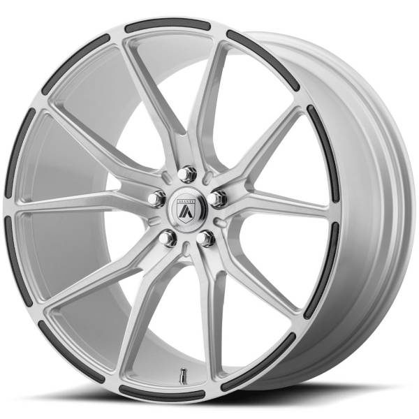 Asanti ABL-13 Silver Wheels with Carbon Inserts
