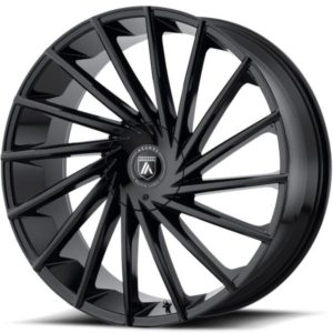 Asanti ABL-18 Gloss Black Wheels