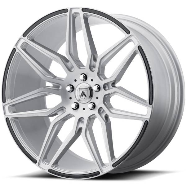 Asanti ABL-11 Silver Wheels with Carbon Inserts