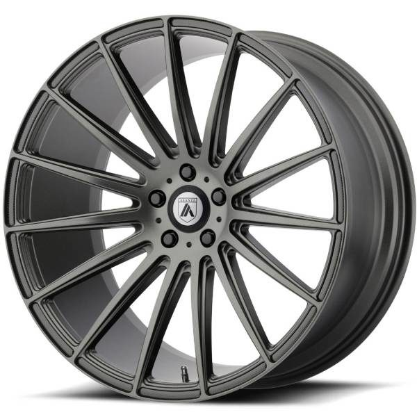 Asanti ABL-14 Matte Graphite Wheels