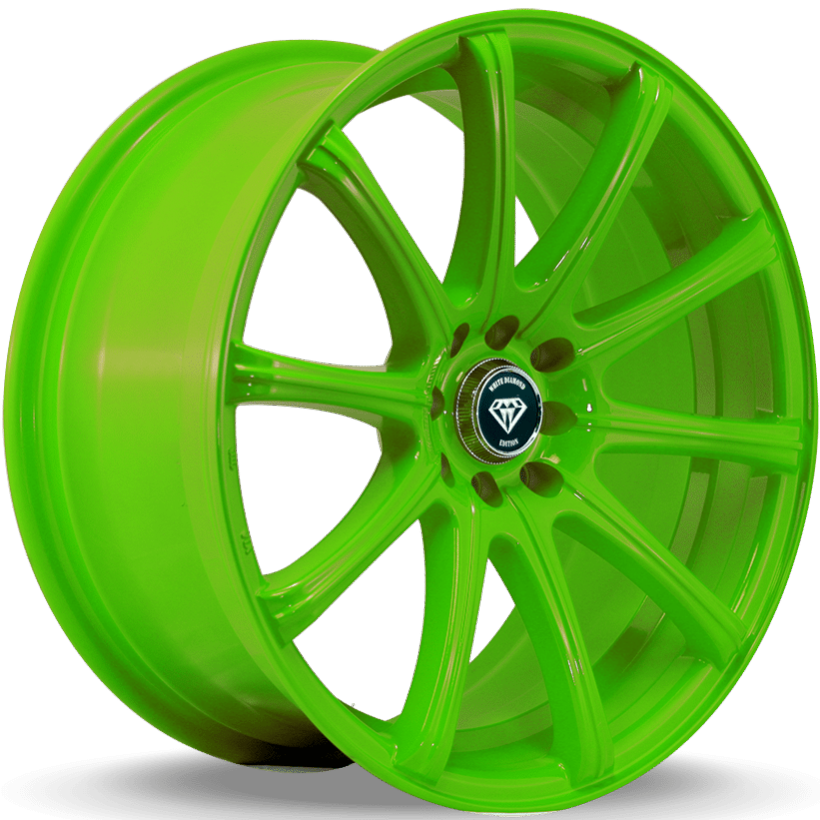 White Diamond W3195 Green Wheels