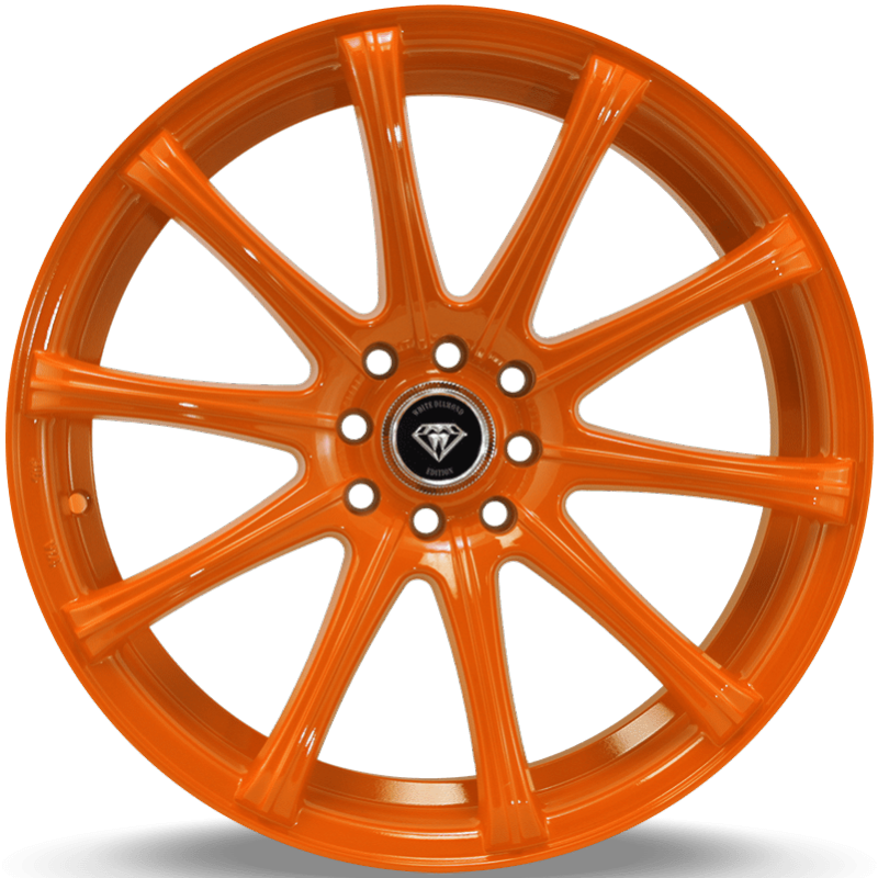 White Diamond W3195 Orange Wheels