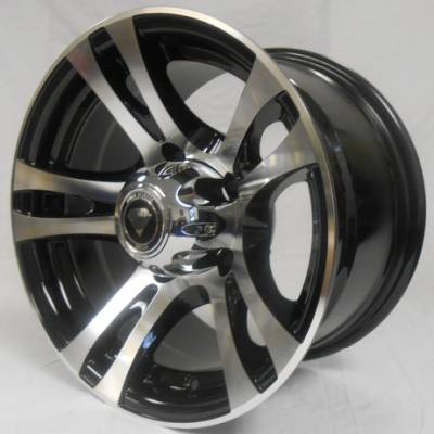 White Diamond W5010 Machine Black Wheels
