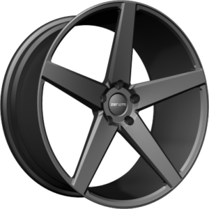 Zenetti Wheels - Zenetti Baron Satin Black Wheels