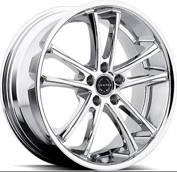 Asanti Black Label ABL-1 Chrome Wheels