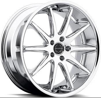 Asanti ABL-4 Chrome Wheels