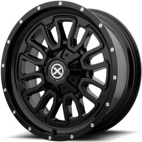 ATX Series AX203 Satin Black Wheels