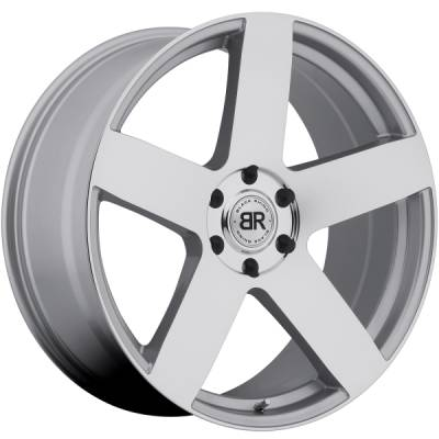 Black Rhino Everest Silver Wheels