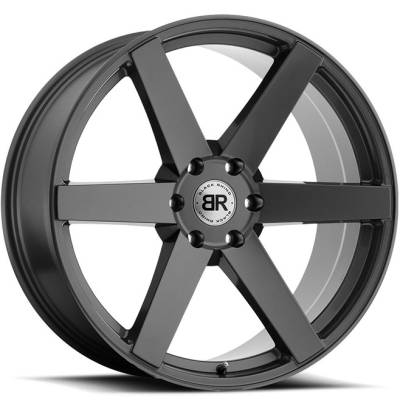 Black Rhino Haka Gloss Gunmetal Wheels