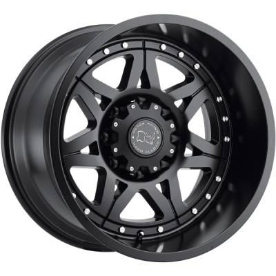 Black Rhino Hammer Matte Black Wheels