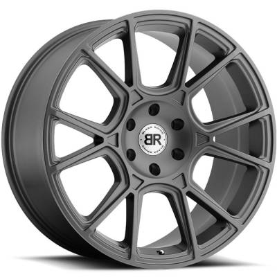 Black Rhino Mala Matte Gunmetal Wheels