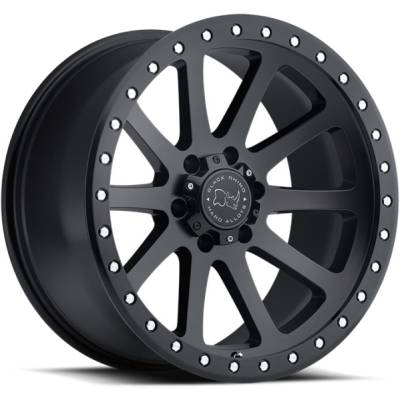 Black Rhino Mint Gloss Graphite Wheels