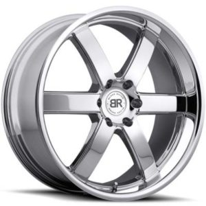 Black Rhino Pondora Chrome Wheels