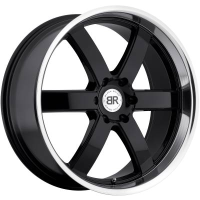 Black Rhino Pondora Gloss Black Machined Wheels