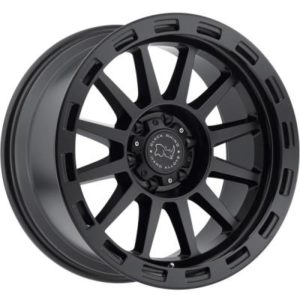 Black Rhino Revolution Matte Black Wheels