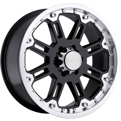 Black Rhino Rockwell Gloss Black Machined Wheels