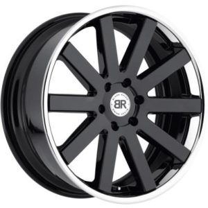 Black Rhino Savannah Gloss Black Wheels