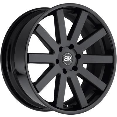 Black Rhino Savannah 2-Tone Black Wheels