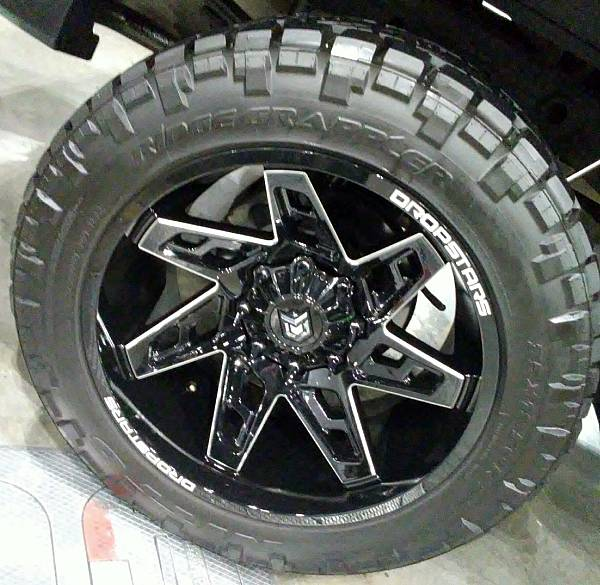 Dropstars 652BM Wheels and Tires