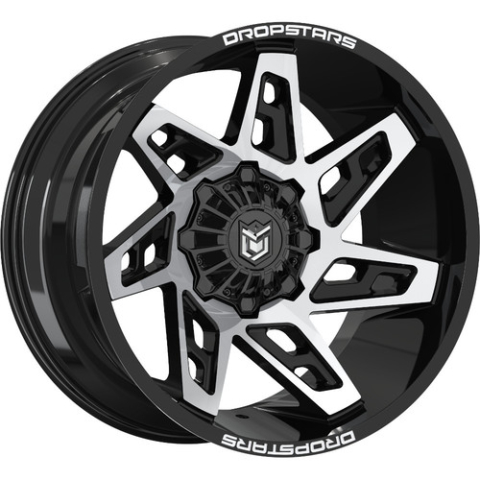 Dropstars 653MB Deep Concave Wheels