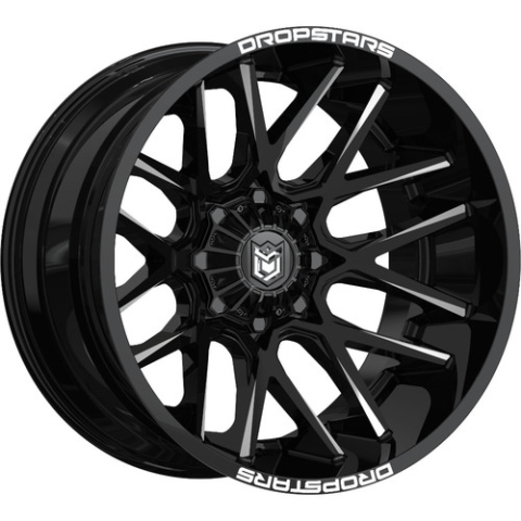 Dropstars 654BM Deep Concave Wheels