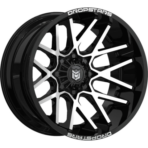 Dropstars 654MB Deep Concave Wheels