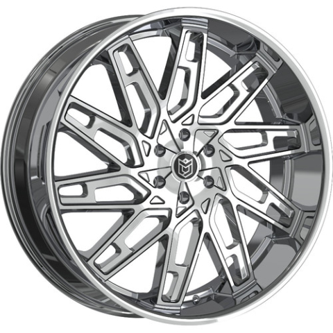 Dropstars 656C Chrome Wheels