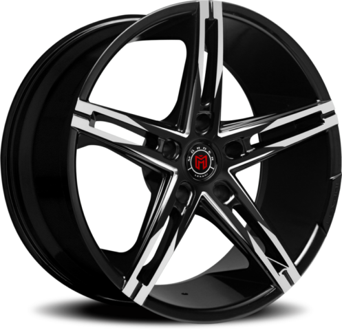 Morder MS-003 Black Machined Wheels