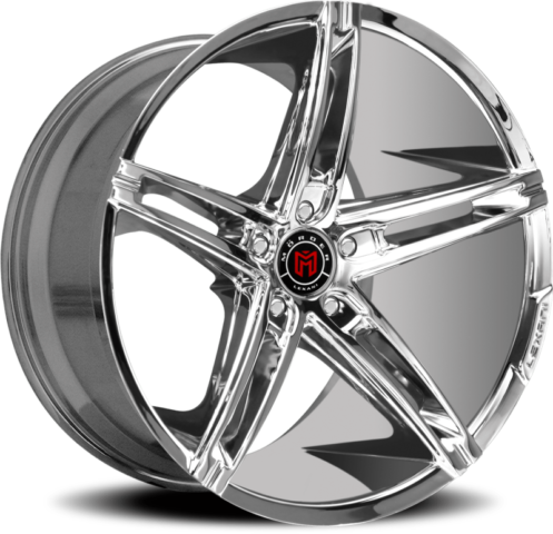 Morder MS-003 Chrome Wheels