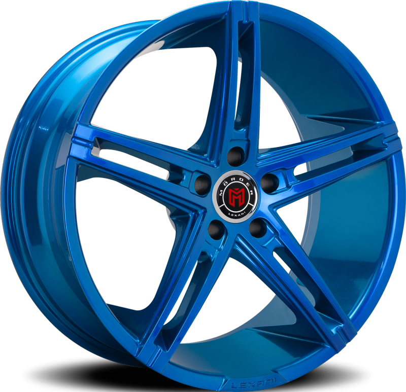 Morder MS-003 Custom Blue Wheels