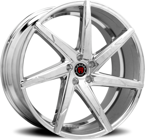 Morder MS-007 Chrome Wheels