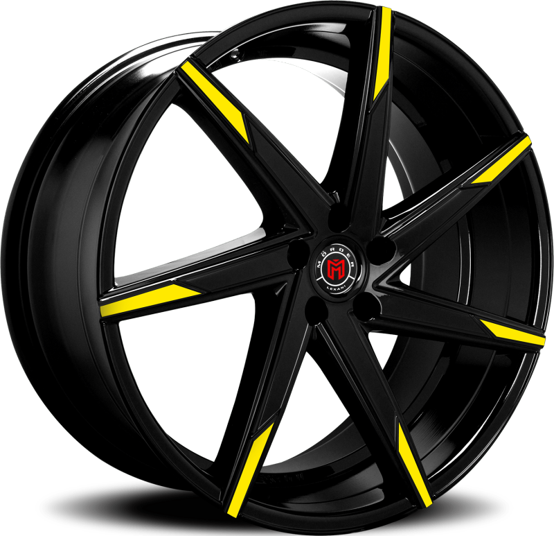 Morder MS-007 Black with Yellow Tips