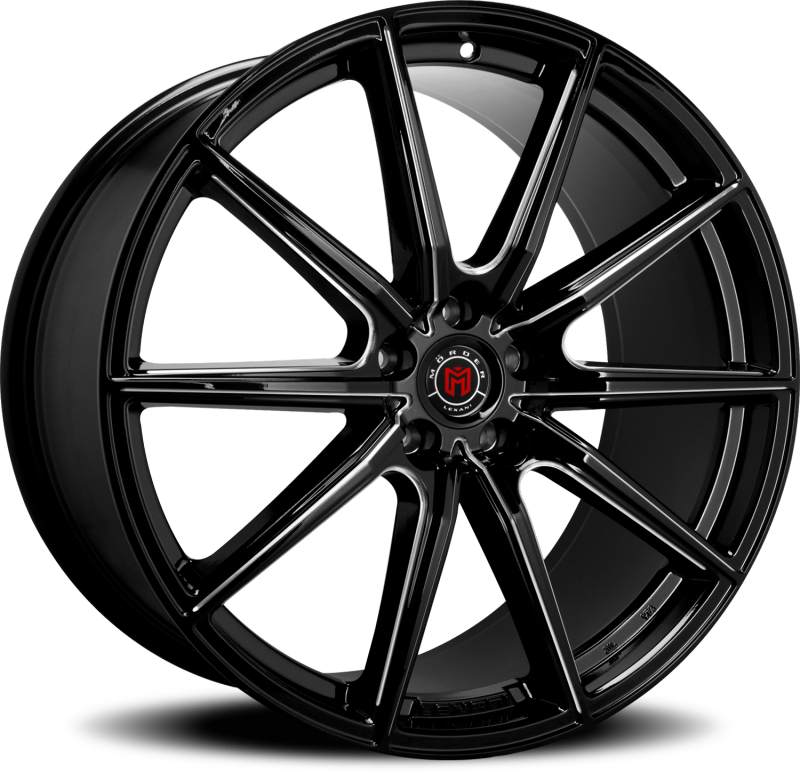 Morder MS-010 Black Milled Wheels