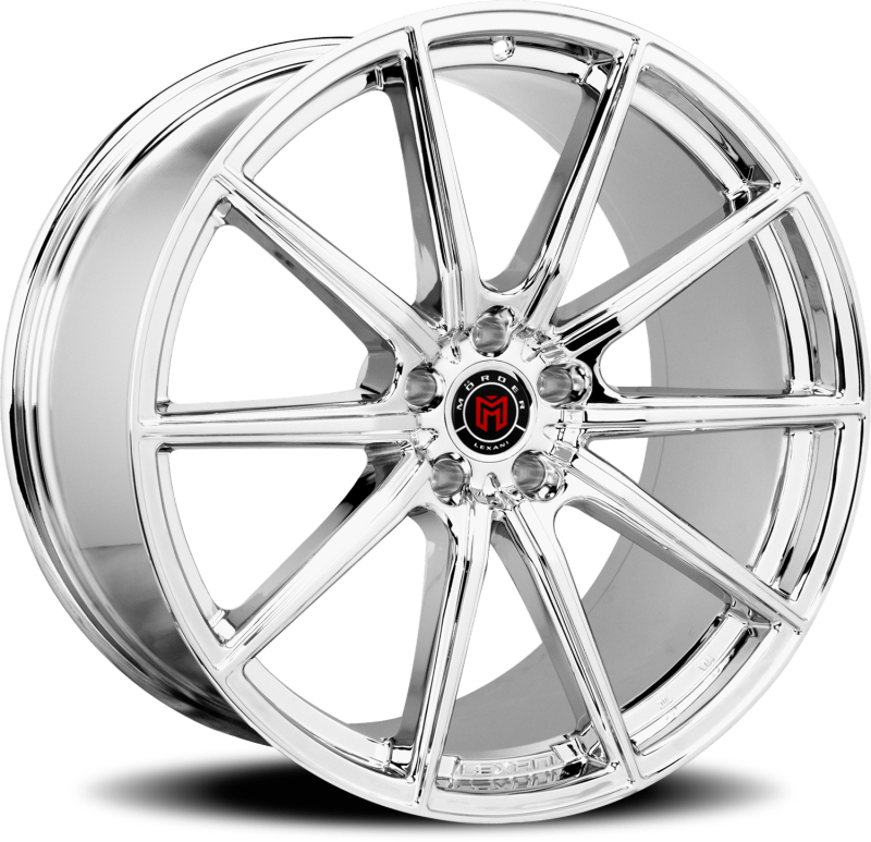 Morder MS-010 Chrome Wheels