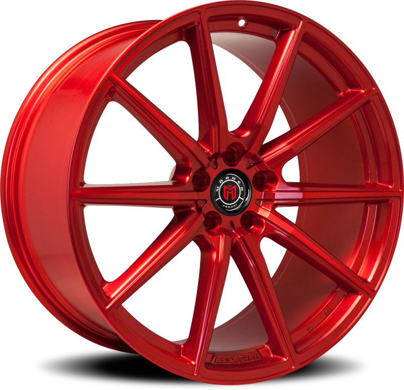 Morder MS-010 Custom Red Wheels