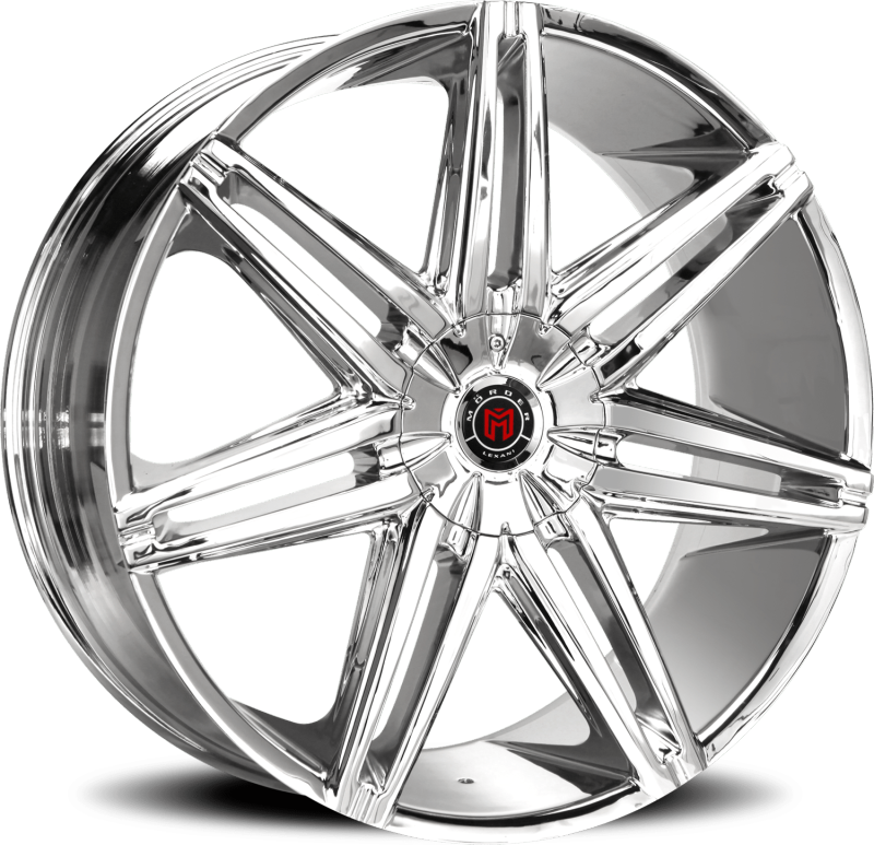 Morder MS-648 Chrome Wheels