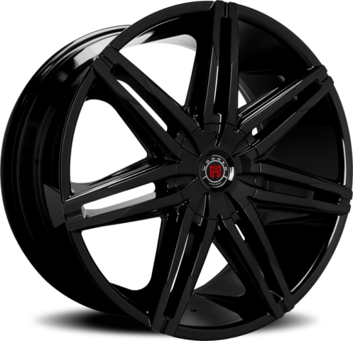 Morder MS-648 Gloss Black Wheels