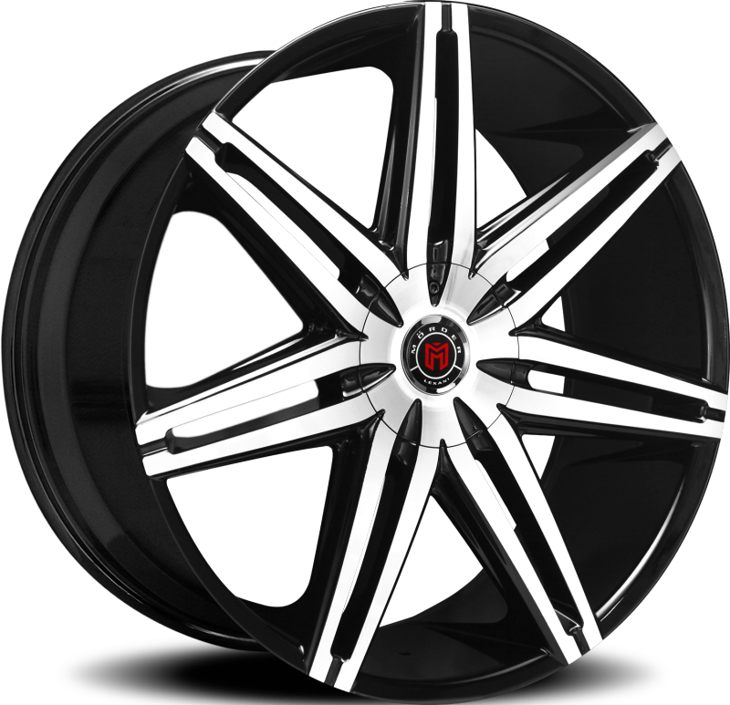 New Morder Wheels MS-648 Machine Black