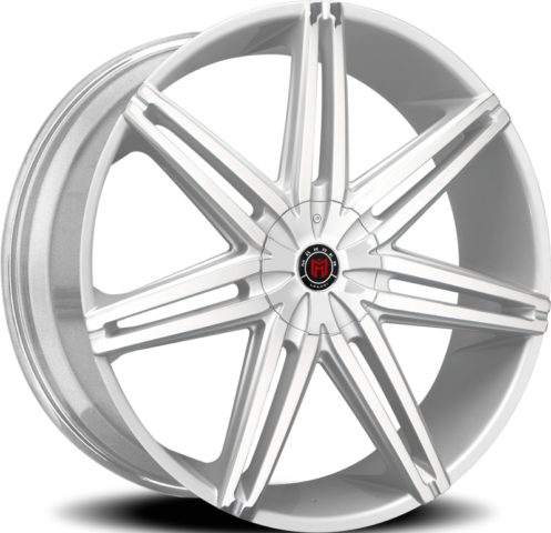 Morder MS-648 Silver Brushed Wheels