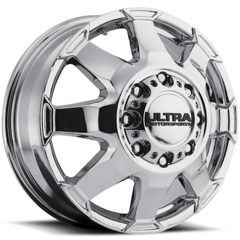 Ultra 025 Phantom Dually Front Chrome Wheels