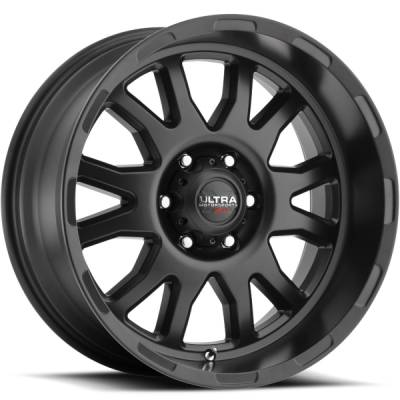 Ultra 108 Xtreme Satin Black Wheels